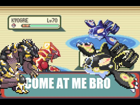 Primal Groudon and Primal Kyogre in Pokemon Emerald! + Download Link!