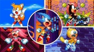 ✪ True Super Mighty & Ray Showcase | Sonic Mania Plus