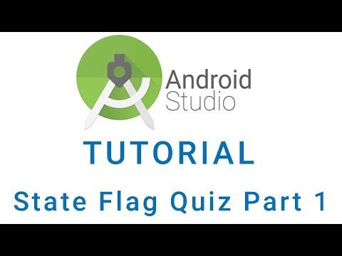 State Flag Quiz Android Studio App Tutorial