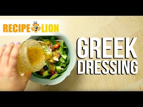 Make Your Own Greek Dressing