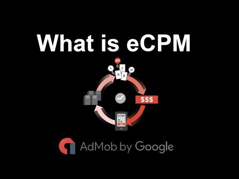 What is eCPM in admob || Admob New Update 2018 || Hindi/Urdu