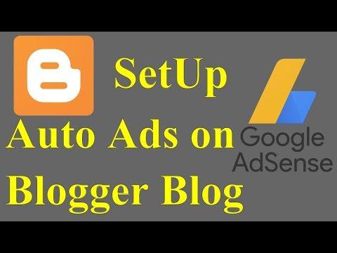 How to Setup New Google Adsense Auto Ads on Blogger Blog (Website) in Urdu/Hindi   Make Money Online
