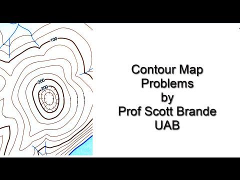 Determine Contour Interval and Contour Line Values
