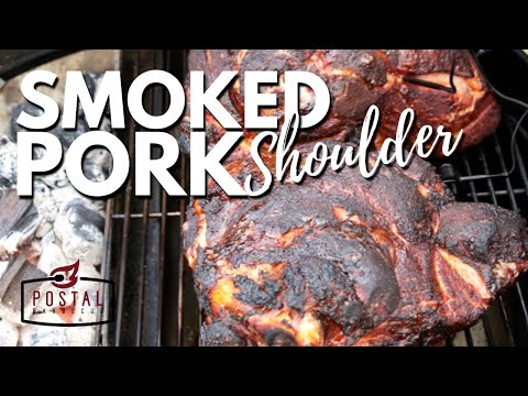 Smoked Pulled Pork Recipe - How to BBQ Pulled Pork Picnic Roast with Slow 'N Sear