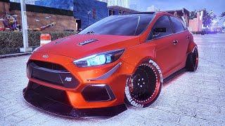 NFS Heat Custom Ford Focus RS
