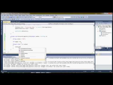 How to convert String to Integer without library function in c#