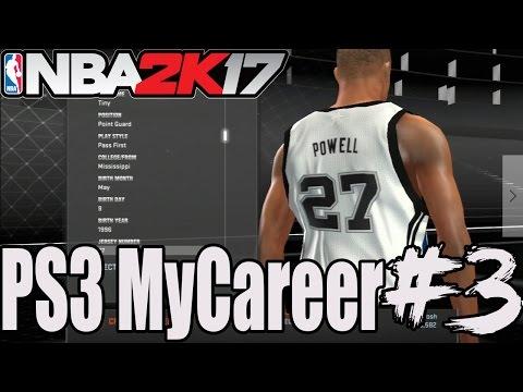 NBA 2K17 - PS3 MYCAREER #3 - Shoe Deal!