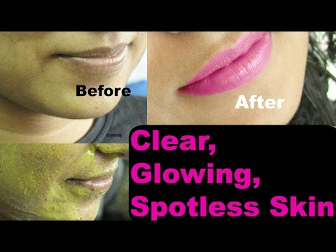 How to get clear, glowing, & spotless skin at home - Indian bridal ubtan for fair skin