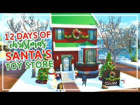 12 Days of Christmas in The Sims 4 🎄🎄 | Santa's Toy Store (Day #7)
