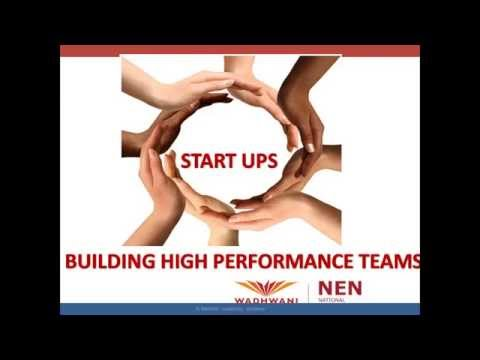 NEN Webinar#78 Building High Performance Startup Teams