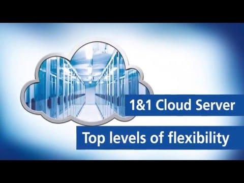 1&1 Cloud Server – Top levels of flexibility
