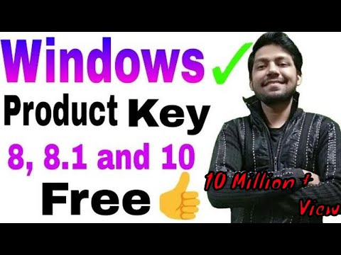 WINDOWS 8, 8.1PRO, 10 PRODUCT KEYS FREE
