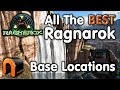 Download  ARK Ragnarok ALL THE BEST BASE LOCATIONS MP3,3GP,MP4