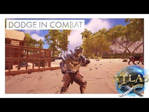 Atlas - How to Dodge in Combat