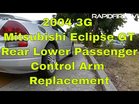 2004 3G Mitsubishi Eclipse GT Rear Lower Passenger Control Arm Replacement