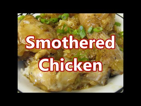 Southern Smothered Chicken stew recipe