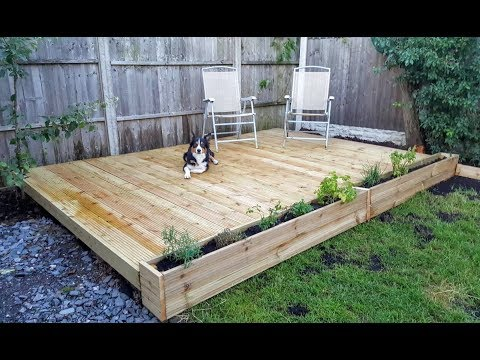 Girl Builds DIY Decking & Planters | The Carpenter's Daughter