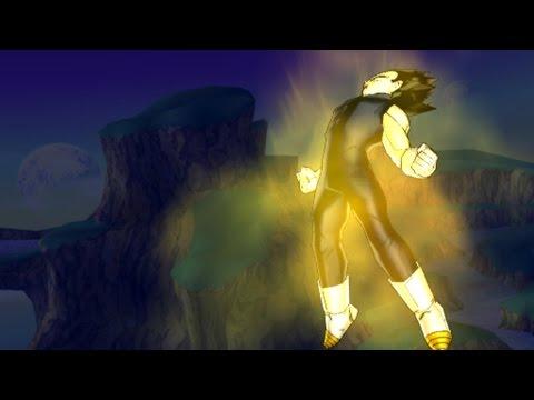 Vegeta Mystic Saiyan: Final Flash and Big Bang Attack