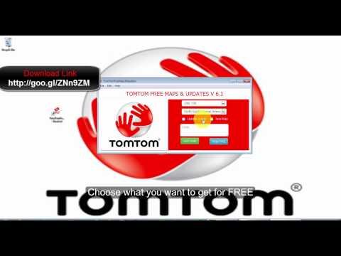 TomTom FREE maps-updates-voices-souds etc | t0mt0mfr33m4p5
