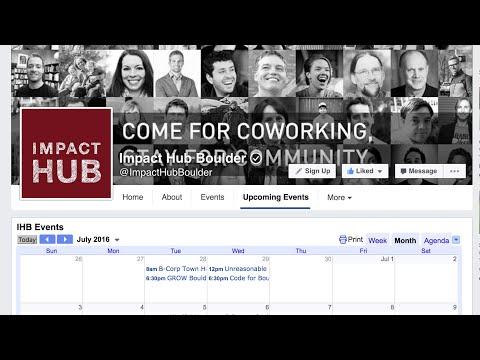How to Add a Google Calendar App/Tab to Facebook
