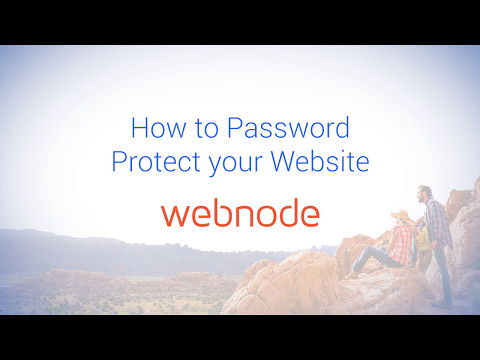 How to Password Protect your Website