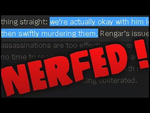 Here come the NERFS | Rengar, the Pridestalker Rework