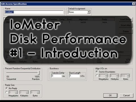 Iometer Tutorial (Part 1) - IO Testing, Benchmark, Troubleshooting Tool
