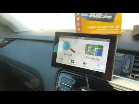 How to change language on the Garmin Smart Drive 50 sat nav