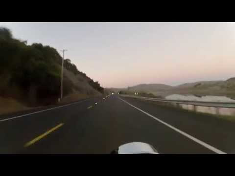 Point Reyes to Napa on the California Twisties under a FULL MOON Softail Deuce FXSTD