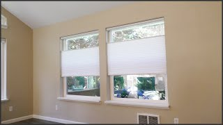 Installing Cordless Top-Down / Bottom-Up Cellular Blinds