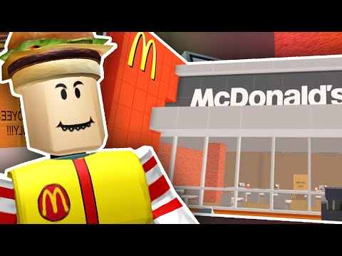 BUILDING MY OWN MCDONALDS!! | Roblox