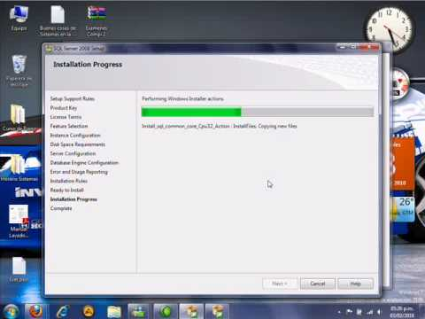 Instalacion SQL Server 2008