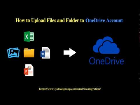 How to Upload Files from Computer Desktop to OneDrive in Windows 10