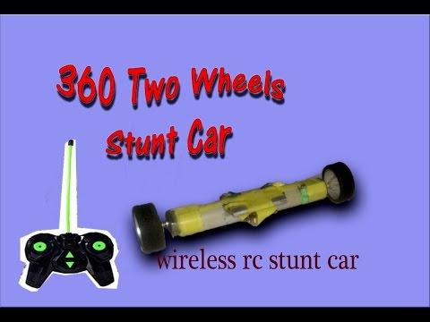 How To Make a Rc car(stuntcar)| Homemade rc car|wireless car