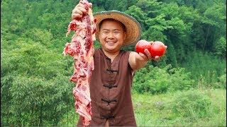 3斤牛腩5个番茄,好吃又下饭,超级解馋