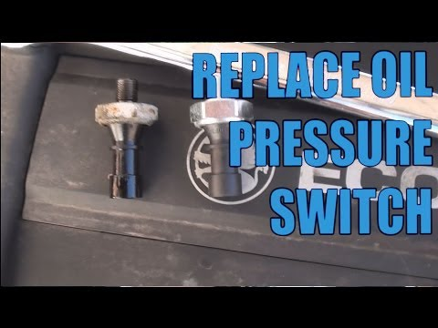 Saturn Oil Pressure Switch Replacement - Oil Pressure Sensor Leak Astra