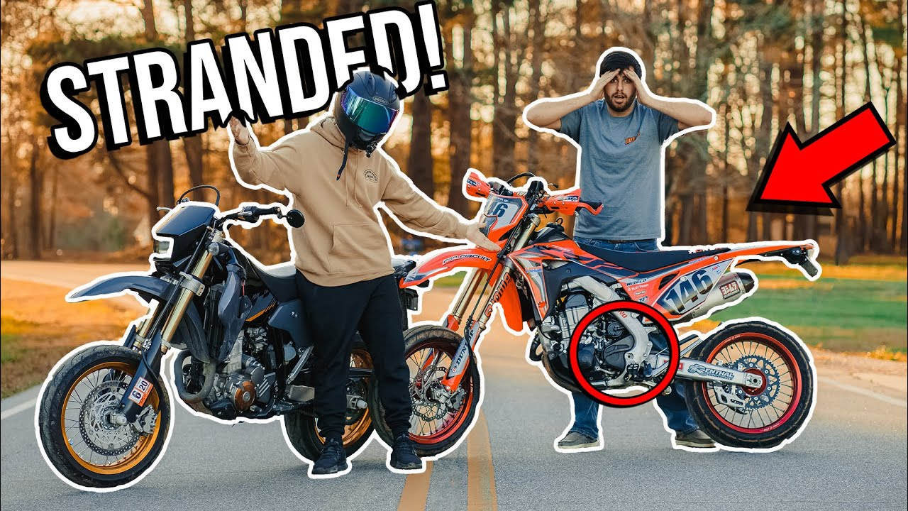 SUPERMOTO LEAVES ME STRANDED! *CHASE ENDS BADLY*