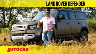 Land Rover Defender review - The India test  | First Drive | Autocar India