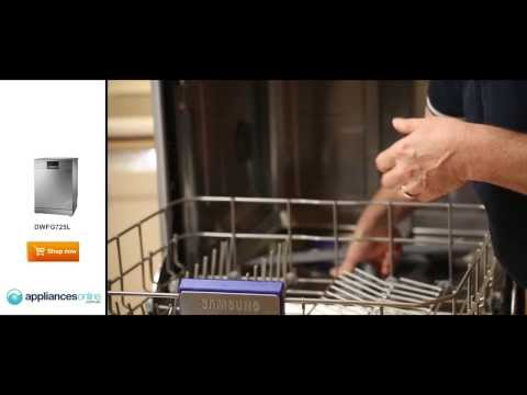 Expert reviews the flexible and efficient Samsung DWFG725L dishwasher - Appliances Online