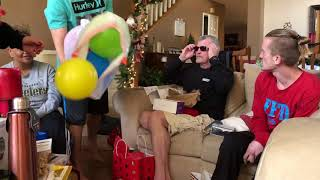 After 60 years, my dad sees color for the first time