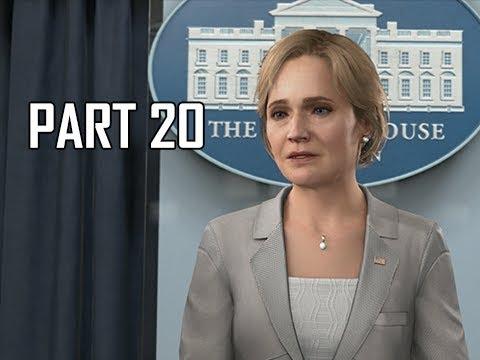 DETROIT BECOME HUMAN Gameplay Walkthrough Part 20 - Madam President (PS4 Pro 4K Let's Play)