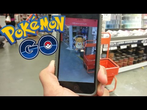 CATCHING A RATICATE IN HOME DEPOT! -  (Pokemon Go)