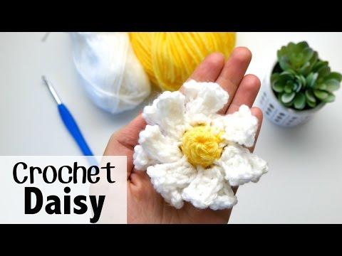 How to Crochet a Daisy Flower