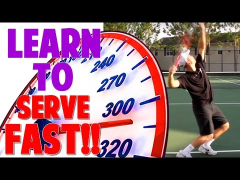 Tennis: How to Serve Unbelievably Fast!!