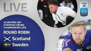 Scotland v Sweden - Men's round robin - Le Gruyère AOP European Curling Championships 2019