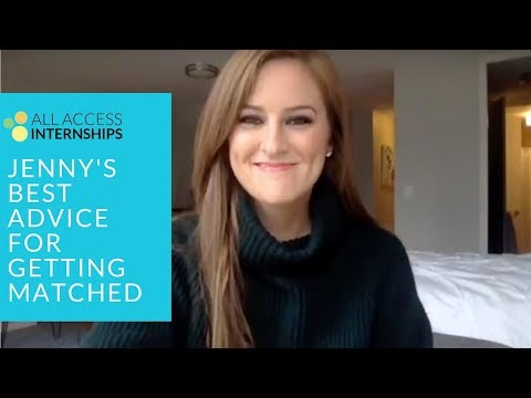 Jenny's Best Advice for Getting Matched to a Dietetic Internship