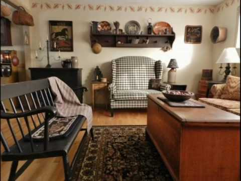 For Best Living Rooms Primitive Decor