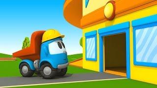Leo Junior bekommt ein neues Haus - Auf der Baustelle gibts jede Menge zu tun