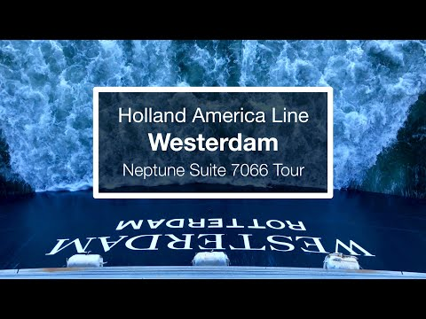 Holland America Westerdam Neptune Suite Cabin Tour - Mike & Tum's Cruise to Alaska