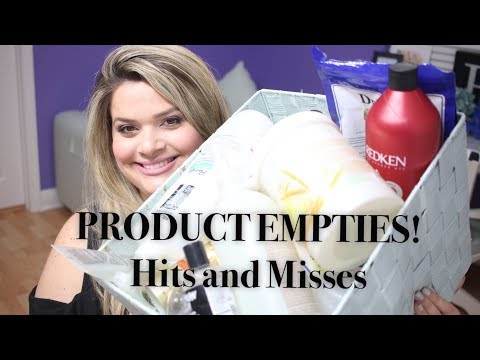 Massive Product Empties / Products I've Used Up (Jan - Aug 2017): Hits and Misses